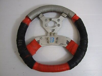 Kart OTK Tonykart Flat Top Steering Wheel, Alonso, Kosmic  - 13