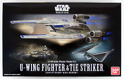 Bandai Star Wars X-Wing Fighter & Krawatte Stürmer 1/144 Maß Set 121848