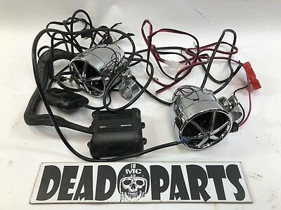 Harley Boss MC600B handlebar engine guard speaker kit amp