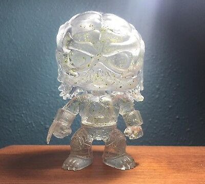 Funko Pop Movies Predator Hot Topic Green Blood Clear Invisible Vinyl Loose