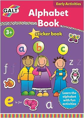 Galt ALPHABET BOOK Children Educational Toys And Activities BN