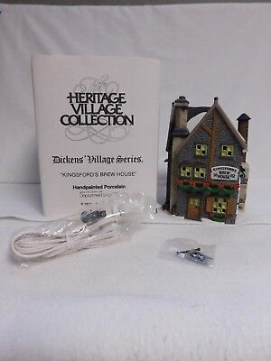 Dept. 56 ~ Dickens' Village Series ~ Kingsford's Brew House ~ Village ~ 58114