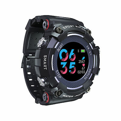 Military Sport Waterproof Smart Watch Heart Rate Monitor Outdoor for iOS Android