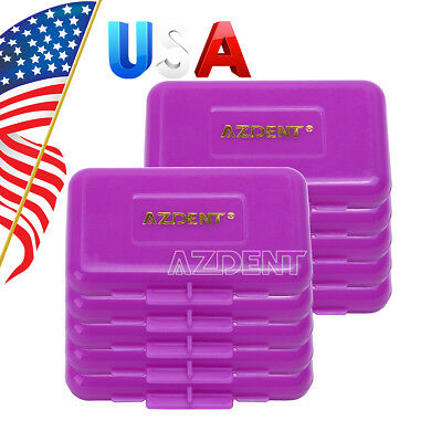 100 Sets Dental Scent For Braces Gum Orthodontic Purple-Grape Wax Irritation P