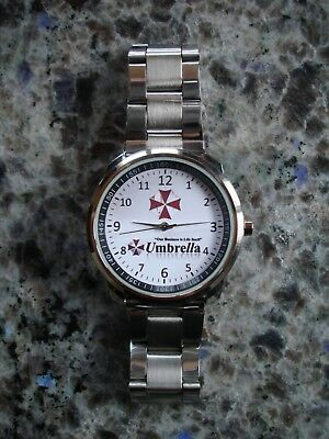 Resident Evil Umbrella Corporation Armbanduhr Watch Neu/ovp