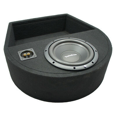 Universal Replacement Spare Tire Rockford R1S410 Single 10 Sub Box Enclosure