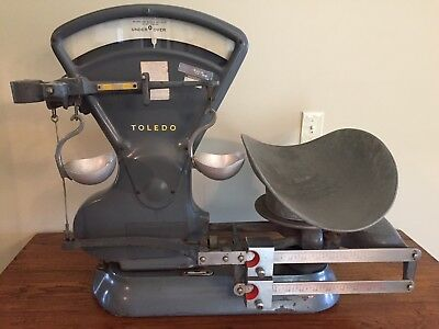 Vintage Antique General Store Grocery Country Store Toledo Scale