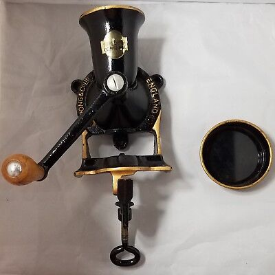 Spong And Co Ltd Coffee Mill Grinder Made In England Ex Condition