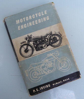 Phil Irving Motorcycle Engineering Book Manual Vincent Norton Bsa Bmw Indian Ajs