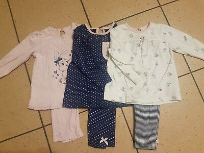 Baby girls Pyjamas 9-12 Months