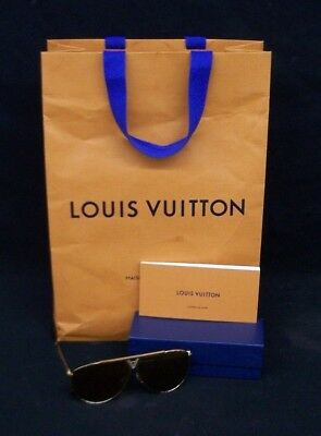 4a04ef696b MENS LOUIS VUITTON Brown Shades Tonca Custom Diamond Sunglasses ...