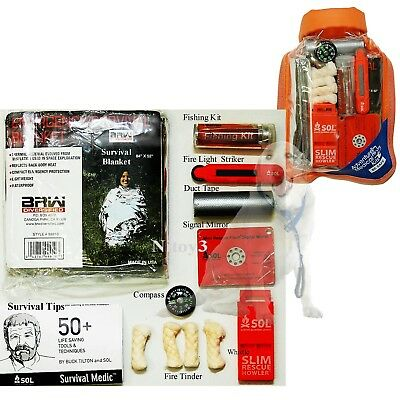 Adventure Medical Survival Kit 2.0 With Waterproof Dry Bag-Backcountry Adventure