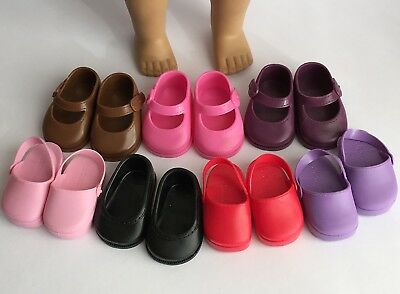 Doll Shoe bundle to fit 18 inch 46cm dolls such as American Girl, Our Generation