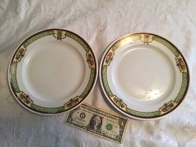 The Chalfonte Hotel 1926 Rosenthal China Luncheon Plates (2)