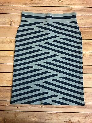 BCBGMAXAZRIA Womens Scheana Striped Skirt