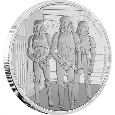 Stormtrooper – Star Wars Classic – 2019 1 Oz $2 Pure Silver Coin – Niue Nz Mint