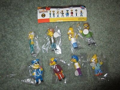 Simpsons Tomy Bobbleheads Series 2 Complete Set