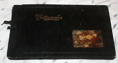 Vtg Photo Album-Nice Variety of Images 1920s - 1930s