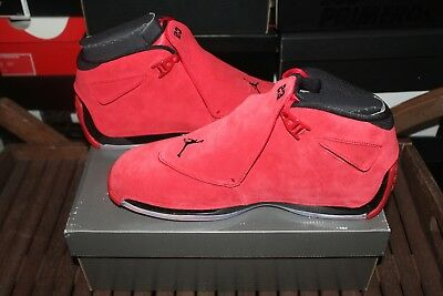 newest cd2b4 19be2 Nike Air Jordan 18 Retro Size 11 Gym Red Black AA2494 601 Brand New NIB Toro