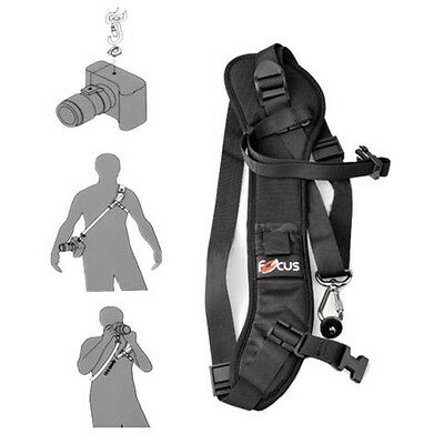 Focus  F-1 Holder Quick Rapid  DSLR SLR Camera Single Shoulder Sling Belt Strap