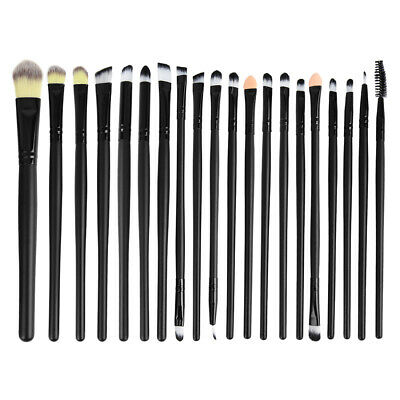 20tlg Kosmetik Pinsel Set Make up Brush Professionelle Schminkpinsel Bürsten