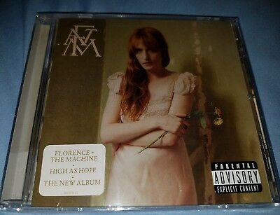 Florence and the Machine - High as Hope CD album FATM Brand New Wrapped & Sealed