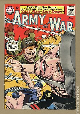 Our Army at War #152 1965 FN- 5.5