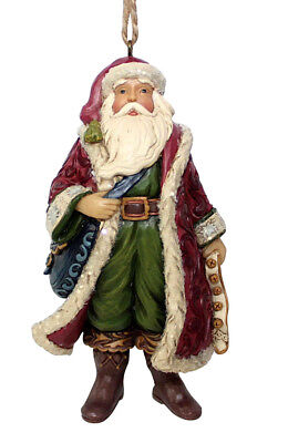 VICTORIAN SANTA w/ SATCHEL ORNAMENT*Jim Shore*NEW 2018*NIB*Christmas*6001432