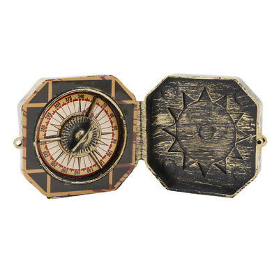 NVintage Nautical Solid Compass Captain's Push Button Compass Collection MH