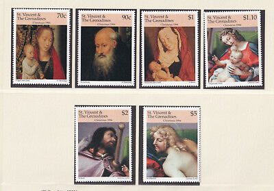 (21744) St Vincent Grenadines Christmas 1996 unmounted mint