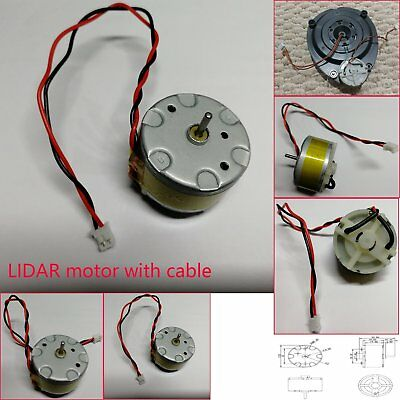 1 x LIDAR Motor with Cable for Neato Botvac& Botvac D Series and Neato XV Series