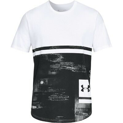 Under Armour Sportstyle Print Graphic T-Shirt Short Sleeve Shirt 1318568-100