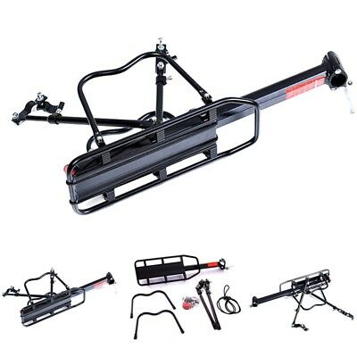 Bicycle Mountain Bike Rear Rack Seat Post Mount Pannier Luggage Carrier Holder