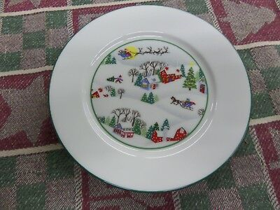 Lenox Sleighride Debut Collection- 4 Bread And Butter/dessert Plates