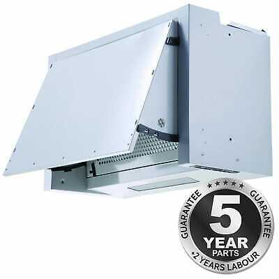 SIA BIE60SI 60cm Integrated Built In Cooker Hood Kitchen Extractor Fan