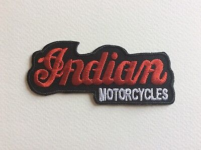 A217 Patch Ecusson Indian Motorcycle 9,5*4 Cm
