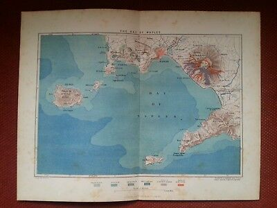 1878 Map of Constantinople and Thracian Bosphorus Turkey Istanbul Antique
