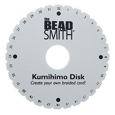Beadsmith Kumihimo Round Disk With English Instructions, 6-inch - Instructions
