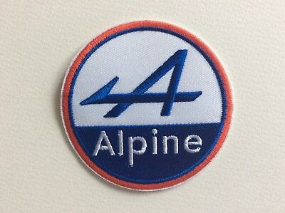 A302 Patch Ecusson Alpine 8 Cm