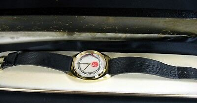 Kansas City Southern Moving Coal Train Wrist Watch