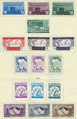 Saudi Arabia 1960 74 Collection Of 67 Including Scouts Refugee Itu Telecom Many