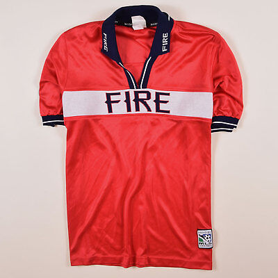 Score First Herren Trikot Jersey Gr.XL MLS Chicago Fire Retro Rot, 59568