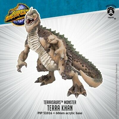 Monsterpocalypse: Terrasaurs: Terra Khan PIP 51016