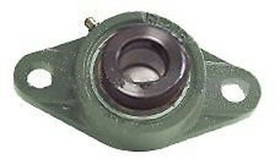 HCFL208-25 2 bolts Flanged housing mounted Bearing with Eccentric Collar 1 9/16