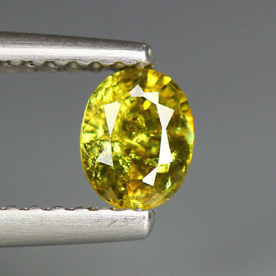0.46 Cts_Stunning Very Rare Collection_100 % Natural Demantoid Garnet_Russia