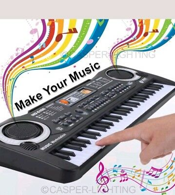 61 Keys Digital Music Electronic Keyboard Electric Piano Organ Instrument Talent