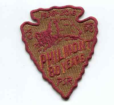 Patch From Philmont Scout Ranch -Arrowhead- 80 Years- 2018