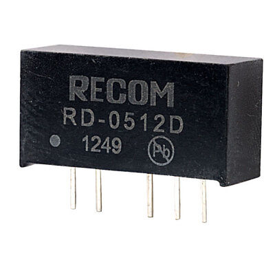 Recom RD-0512D 2W Dual Output DC to DC Converter SIL