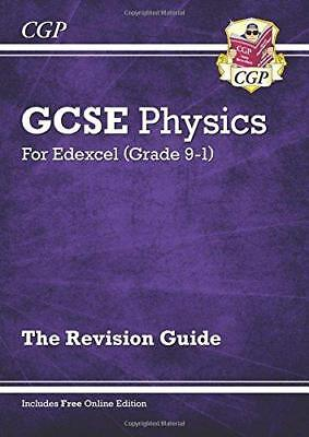 New Grade 9-1 GCSE Physics: Edexcel Revision Guide with Online Edition, Very Goo