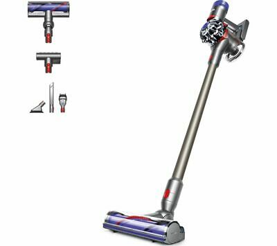 DYSON V8 Animal Cordless Vacuum Cleaner - Nickel, Iron & Titanium - Currys